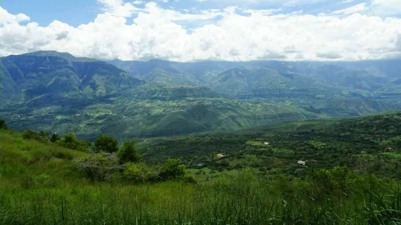 panorama de barichara