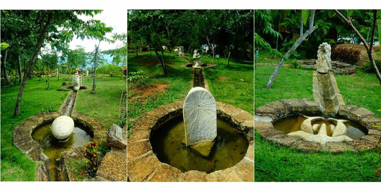 parc statues barichara