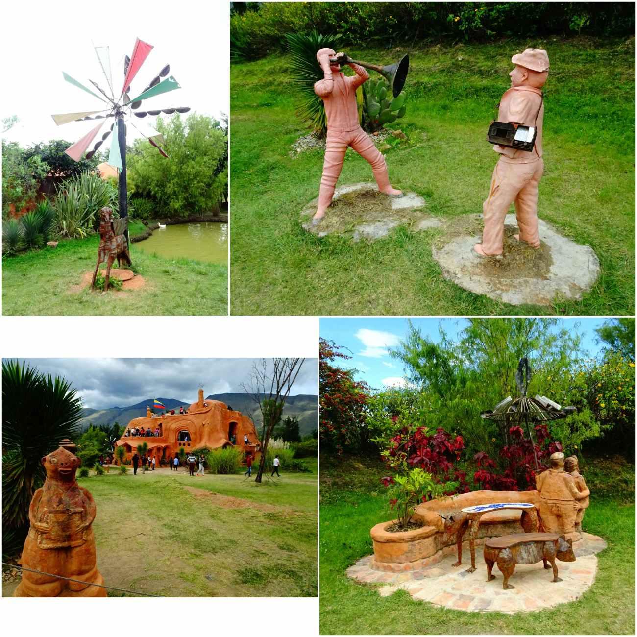 Casa terracotta statues