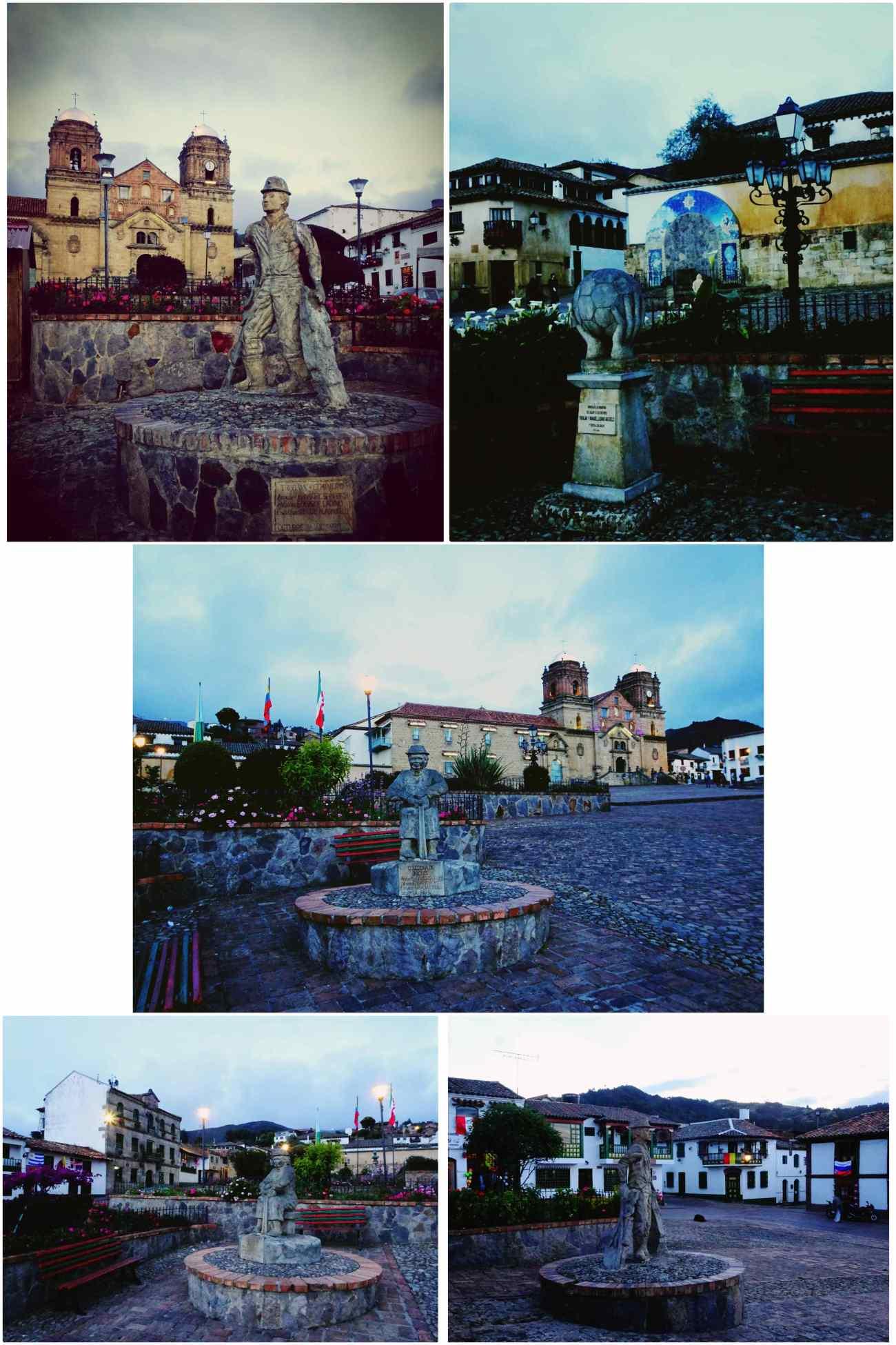 Mongui statues place