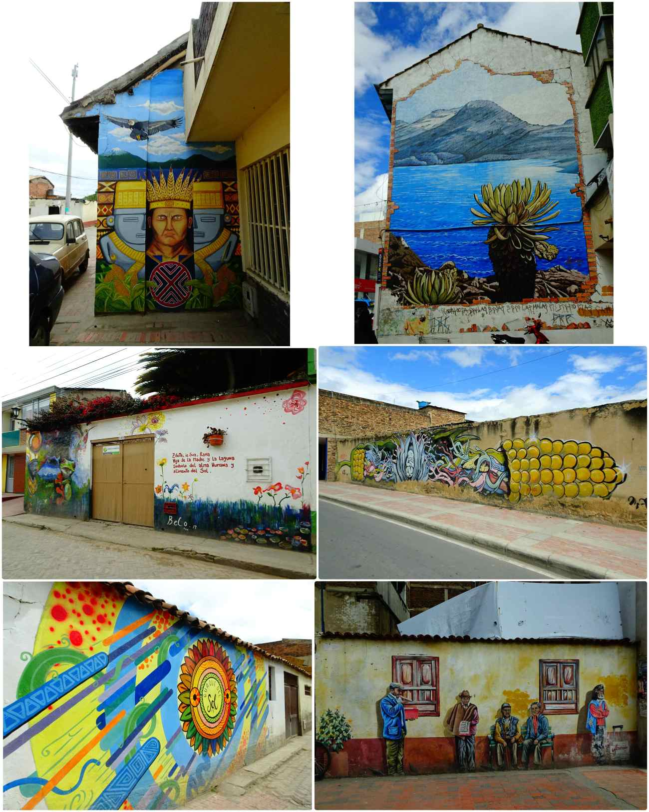 Sogamoso paintings