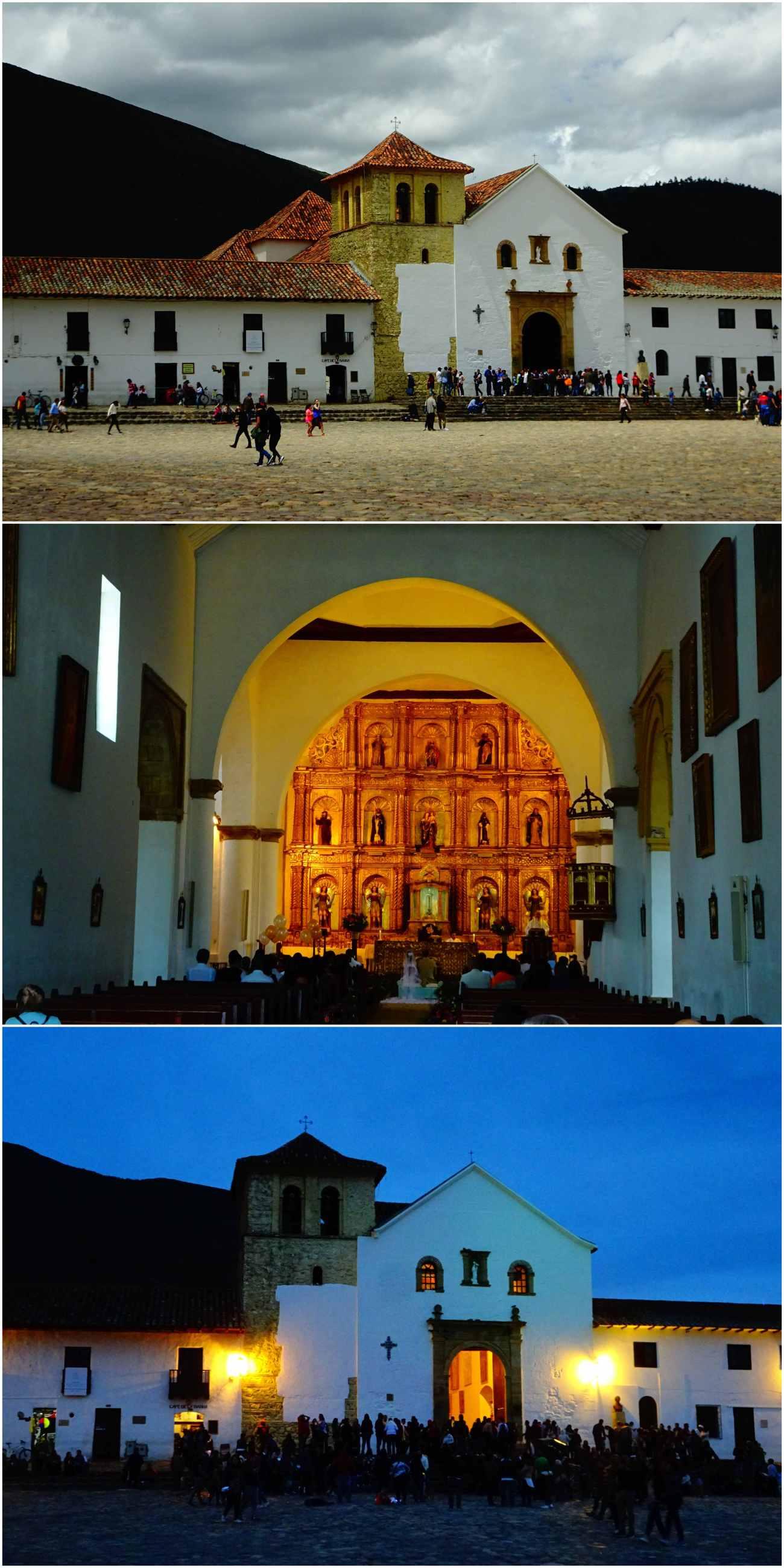 Eglise villa de leyva