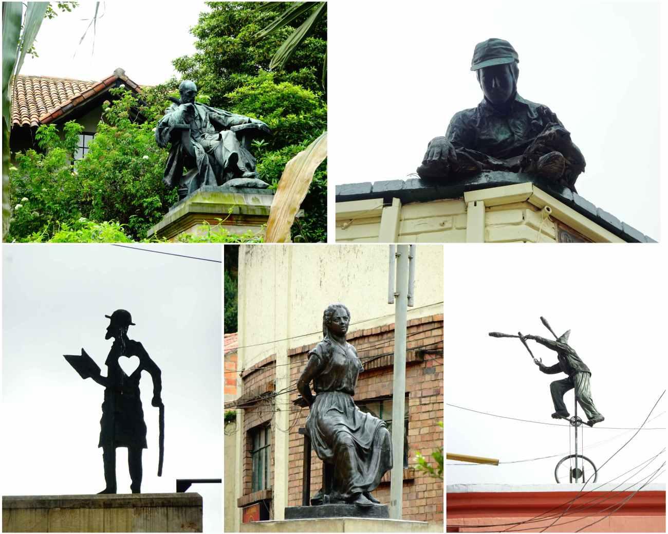 Bogota_statues